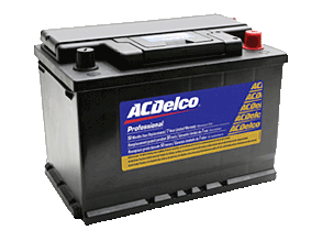Picture of a car battery
