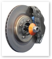 Picture of a car brake